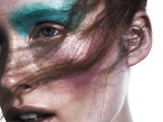 Ilva Heitmann beauty shoot for Playing Fashion May 2016 issue