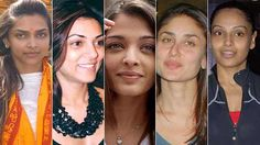 20 Bollywood Actresses With And Without Makeup