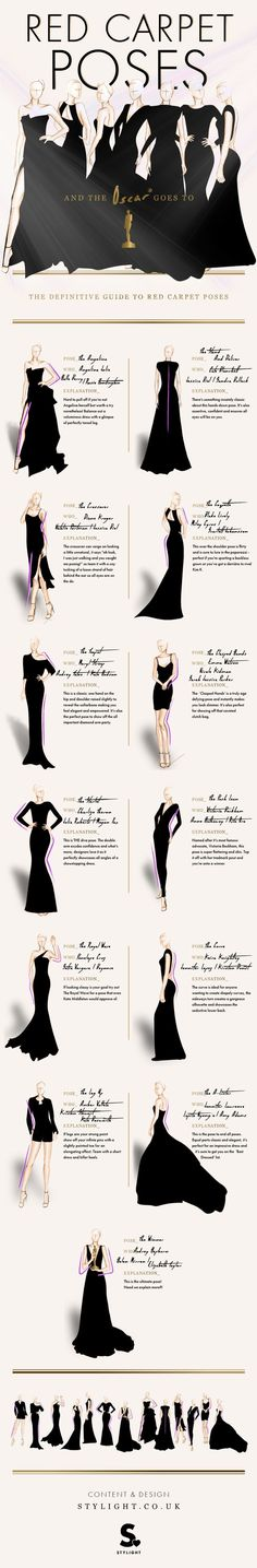 cool The Definitive Guide to Red Carpet Poses #infographics #fashion #model by http://www.globalfashionista.xyz/fashion-poses/the-definitive-guide-to-red-carpet-poses-infographics-fashion-model/