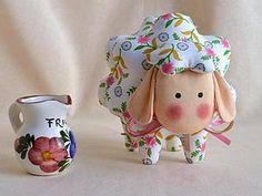 Шьем очаровательную овечку Бяшку — подарок к Пасхе | Ярмарка Мастеров - ручная работа, handmade