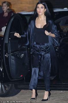 11db3539ccb5c Kourtney Kardashian Jonathan Cheban, Kim Kardashian, Kardashian Fashion,  Nobu Restaurant, Star Fashion