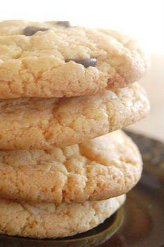Just 3 ingredients~ Cake Mix Cookies