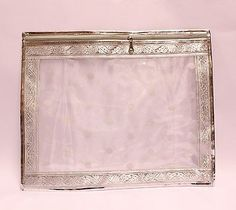 Silver-spot-Saree-Bags-Case-Cover-Indian-Asian-Wedding-Accessory Wedding Accessories, Saree, Asian, Cover, Fabric, Bags, Stuff To Buy, Tejido, Handbags