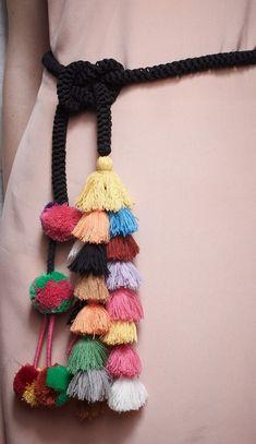 Make a tassel belt! Or just buy one.