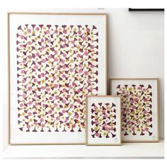 Craft Tutorials, Diy Projects, Patterned Furniture, Pressed Flower Art, Crochet Home Decor, Deco Floral, Crafty Craft, Flower Frame, Dried Flowers