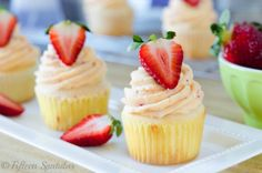 Strawberry Buttercream from Fifteen Spatulas