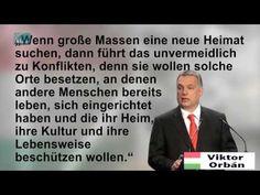 Orbán ZUERST kommt das VOLK UNGARNS, DANN Europa & Flüchtl - YouTube