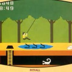 Pitfall. One of my favorite games on my ColecoVision.