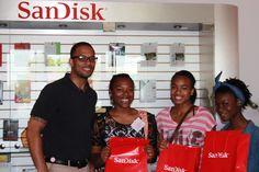 Riordan Scholars tour SanDisk Corp.