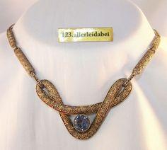 Theodor Fahrner Collier Kette mit Spinell 925 Silber Collierkette / AI 906