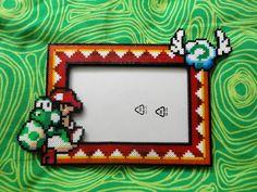 Perler - Baby Mario Yoshi Pic Frame