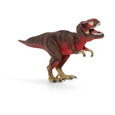 Red Tyrannosaurus Rex $24.99  Tyrannosaurus rex The thirteen metre long Tyrannosaurus Rex was a two legged predatory dinosaur. With its powerful head and nearly 20 centimetre long teeth, this dinosaur was an extremely impressive contemporary. Although the Tyrannosaurus Rex looked quite threatening, it could hardly use its front legs armed with just two claws since they did not even reach his mouth. Nearly seven metres tall and thirteen metres long, the Tyrannosaurus Rex was probably not a…