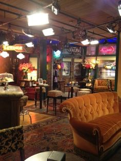 Warner Bros Studios , LA. Whilst there i visited Central Perk Set from Friends