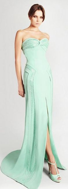 Georges Hobeika. If I ever do anything fancy, I want this dress.
