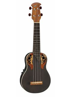 Applause soprano acoustic-electric ukulele. This is so beautiful. $159.