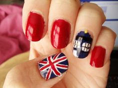 Doctor Who nails. Fantastic!