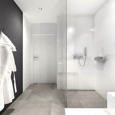 If you have a small bathroom in your home, don't be confuse to change to make it look larger. Not only small bathroom, but also the largest bathrooms have their problems and design flaws. Bathroom Toilets, Bathroom Renos, Laundry In Bathroom, White Bathroom, Bathroom Interior, Modern Bathroom, Small Bathroom, Bathroom Ideas, Interior Livingroom