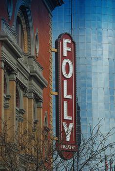 Folly Theatre - Kansas City, Missouri. Photograph by Robin Ritter