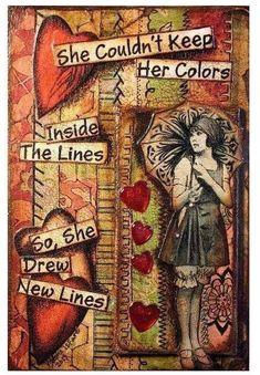 $4.95 - She Drew Lines 10 - 8 X 10 Tee Shirt Iron On Transfer #ebay #Home & Garden