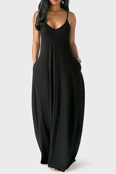 Cute cami dress for Fat Fashion, Look Fashion, Plus Size Fashion, Womens Fashion, Fashion Online, Girl Fashion, Casual Outfits, Cute Outfits, Casual Dresses