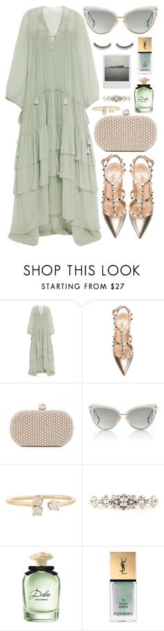 """""""Untitled #582"""" by clary94 ❤ liked on Polyvore featuring Chloé, Valentino, Santi, Dita, Loren Stewart, Dolce&Gabbana, Yves Saint Laurent and shu uemura"""