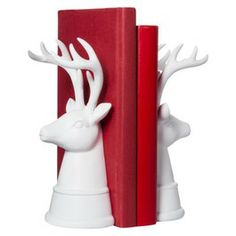Threshold™ Stag Head Bookend Set -Target