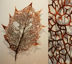 gorgeous stitched art by Meredith Woolnough, via Empress Wu Designs blog