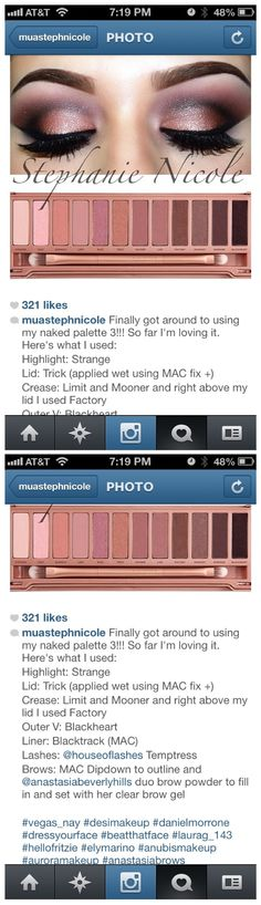 Ugh I wish I had this skill! Once I get my Naked 3 palette, I'll practice. ;]