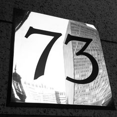 Day 47: Stylish serif numbers // © Erin M. Harris