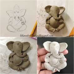 Clay mural tutorial. Indian Clay work. Indian wall decor.