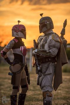 Sabine Wren & Boba Fett Star Wars