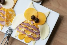 Hibou fromage charcuterie