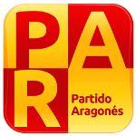 Actual logo del Partido Aragonés