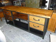 Console 4 tiroirs style industriel Ameublement Haute-Garonne - leboncoin.fr