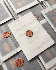 Love the wax seals, not this color, and the translucent wrap around a darker or lighter insert. -Jilll