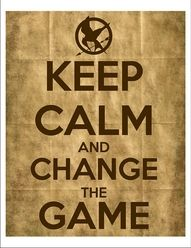 Favorite. Independently even from the books of film. I love this. Keep Calm Posters, Keep Calm Quotes, Quotes To Live By, Me Quotes, Hunger Games Catching Fire, Hunger Games Trilogy, Tribute Von Panem, Keep Calm Signs, Jenifer Lawrence