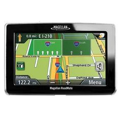 Magellan RoadMate 1440 Portable GPS Navigator (Electronics)By Magellan Car Tracking Device, Gps Tracking, Tech Toys, Gps Navigation, Electronics Gadgets, Toys For Boys, Cool Things To Buy, Oct 11, Touch