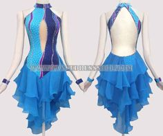 plus size latin dancing clothes,latin competition dance apparels store:LD-SG1713