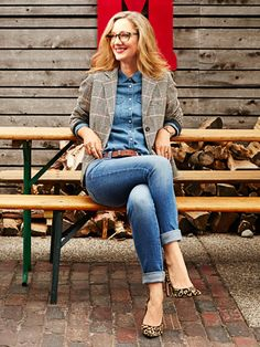 Fall Fashion Trends 2014 - Judy Greer Models a Week of Outfits for Fall - Good Housekeeping