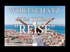"""Wortschatz zum Thema """"REISE""""   Deutsch Lernen"""