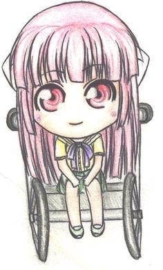 Elfen lied Mariko chibi drawing