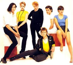 "One of the highlights of British Synth Pop is in fact not simple synthesizer melodies, but attention to vocal harmonies. This is especially true for the Human League. The charm of their first hit, 1981's ""Don't You Want Me,"" lies mostly in its unforgettable, highly emotional narrative delivered through deadpan vocals that harmonize like the Beach Boys. http://www.thehumanleague.co.uk/"