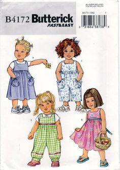 Butterick Toddlers/'//children/'s Dress