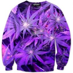 That gran daddy purp has turned the entire plant purple  Get the best marijuana in the world and get super high in this Future Weed Crewneck  Our full print crewneck sweatshirts are uniquely crafted using a special sublimation technique to transfer ou