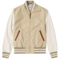 Golden Bear Sportswear Dupont Varsity Jacket,