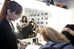 Make-up by Laura Mercier.