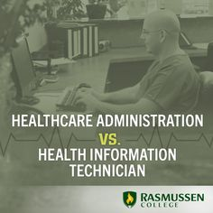 Clear the confusion between healthcare administration and health information technology #healthjobs