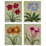 Uttermost - Fun Time Florals Wall Art (Set of 4) - 32207   SPECIAL PRICE: $316.80