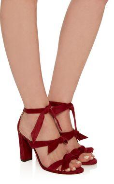Alexandre Birman Suede Sandals