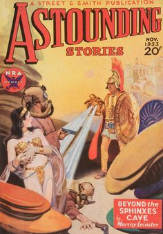 Comic Book Cover For Astounding Stories 03 Science Fiction Magazines, Pulp Fiction Book, Fiction Stories, Pulp Magazine, Magazine Art, Magazine Covers, Princess Art, Space Princess, Sci Fi Books